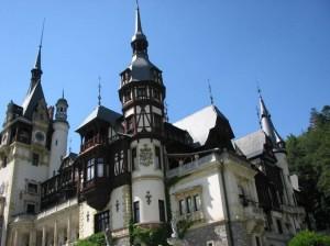 Active tour in Romania - Peles Castle in Sinaia