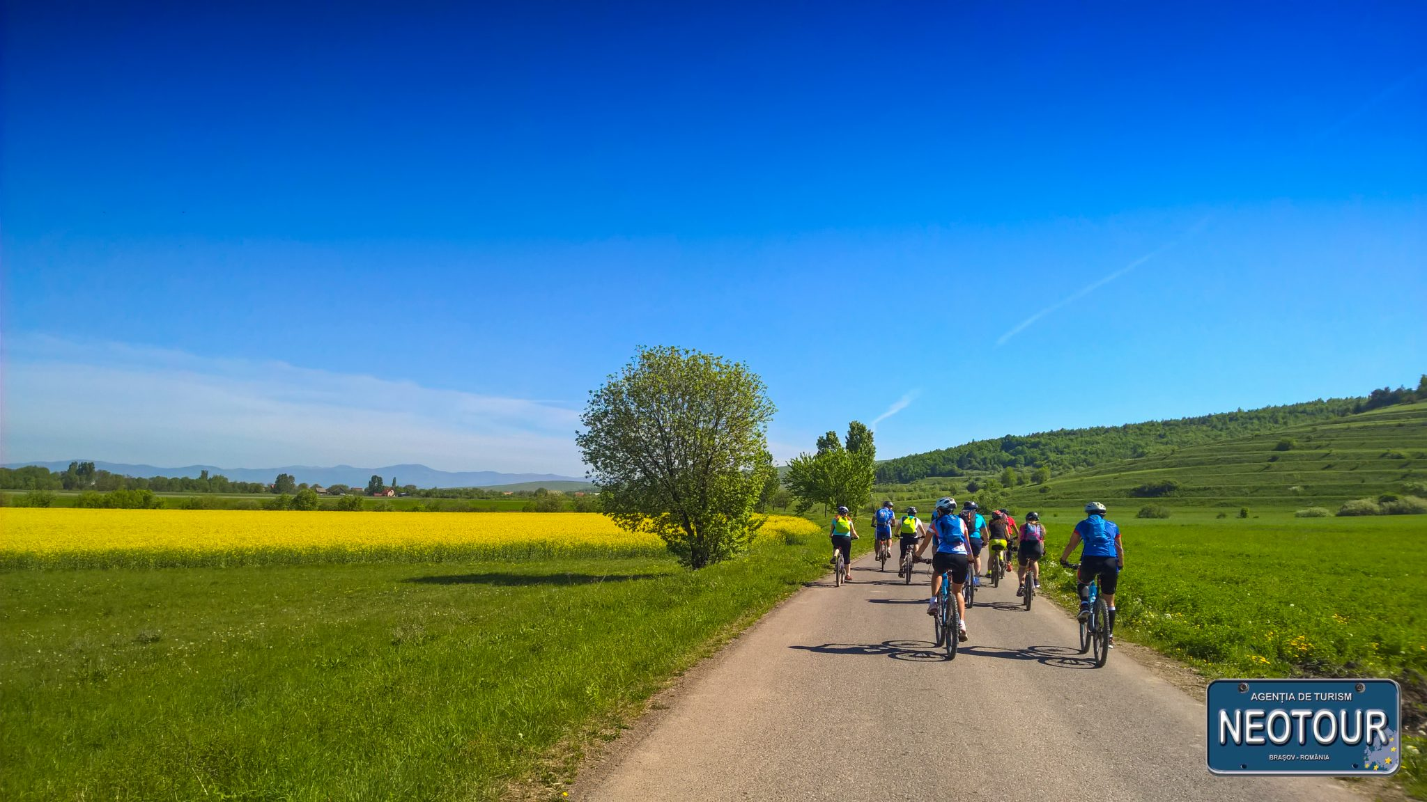 Bicycle tour in Covasna county