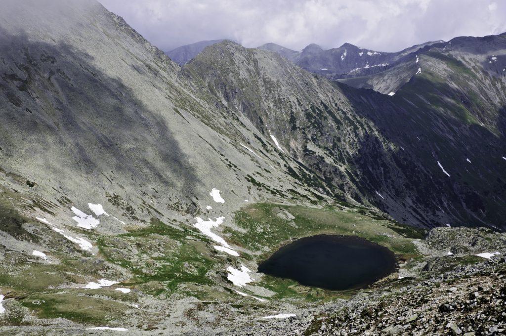 Ghimpele Lake from Peleaga Peak