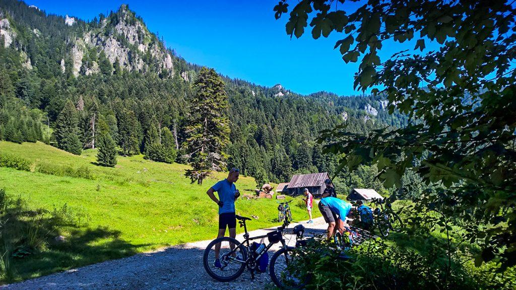 Tour à vélo en Transylvanie - vélo à Azuga