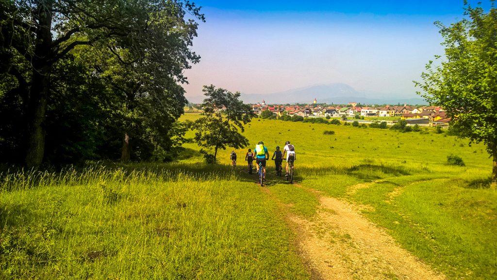 Tour à vélo en Transylvanie - Faire du vélo à Cristian