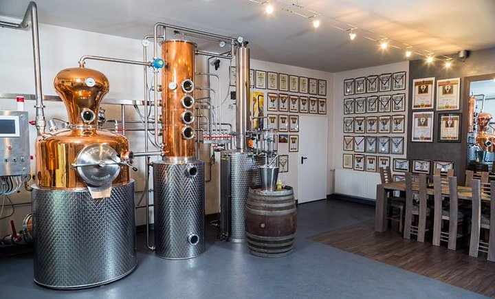 Distillery tour near Brasov
