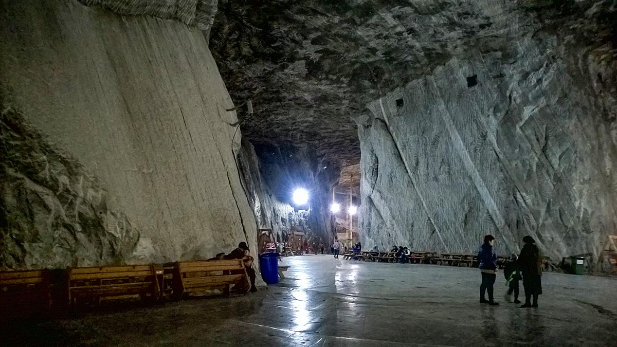 Inside the Praid salt mine