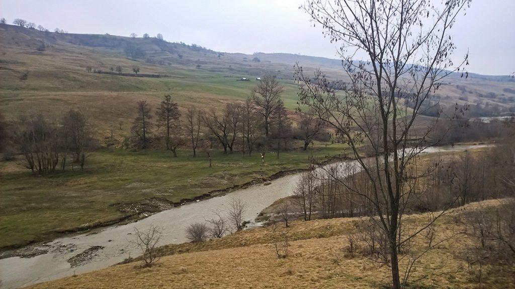 Scenery towards Praid