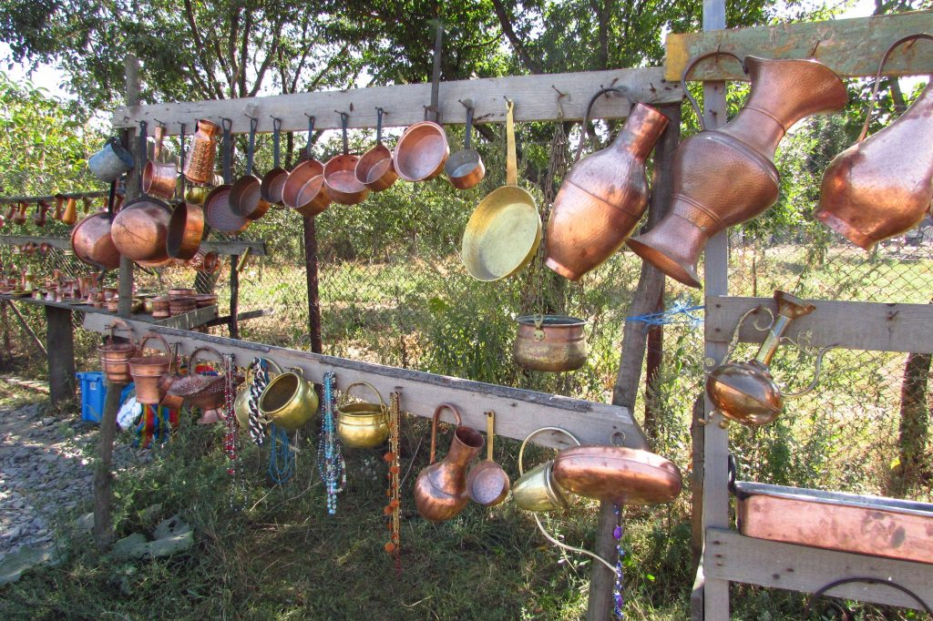 Gypsy copper objects
