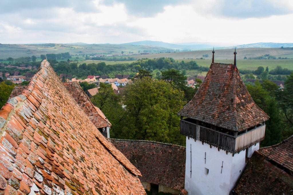 Things to do in Transylvania - Viscri village and church