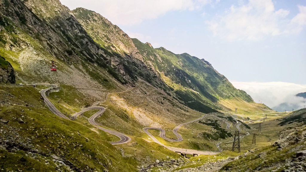 Active tour in Romania - Transfagarasan highway