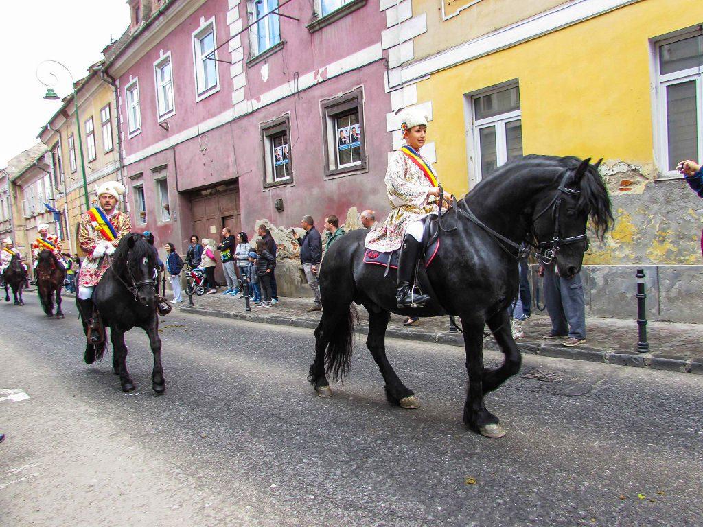 Traditions à Brasov - Junii Brasovului