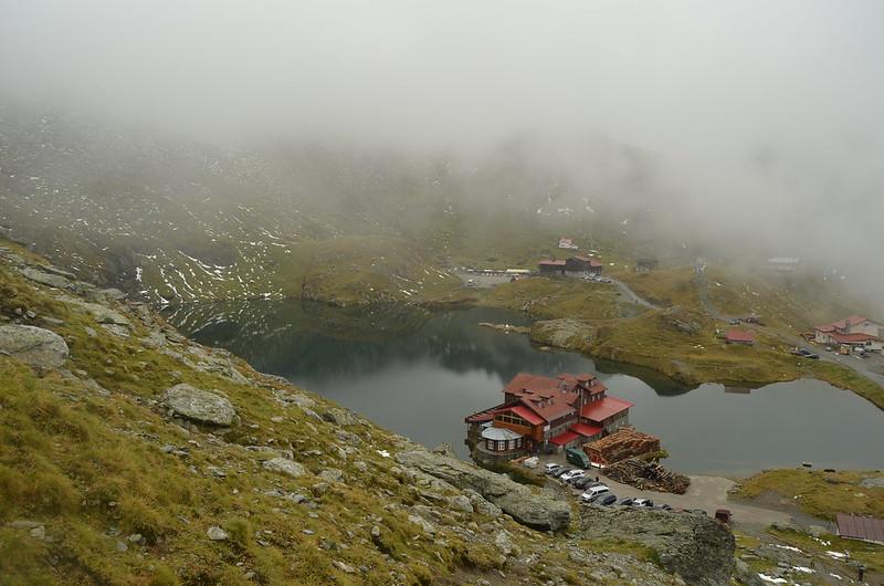 Active tour in Romania - Balea lake in Fagaras mountains