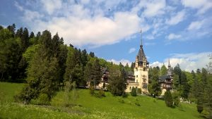 The Peles Castle in Sinaia, Romania
