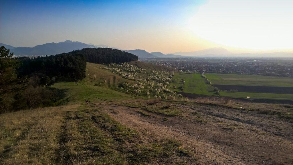 Colina de Lempeș - paisaje