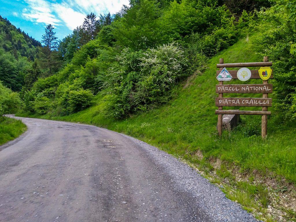 Entrada al Parque Nacional Piatra Craiului