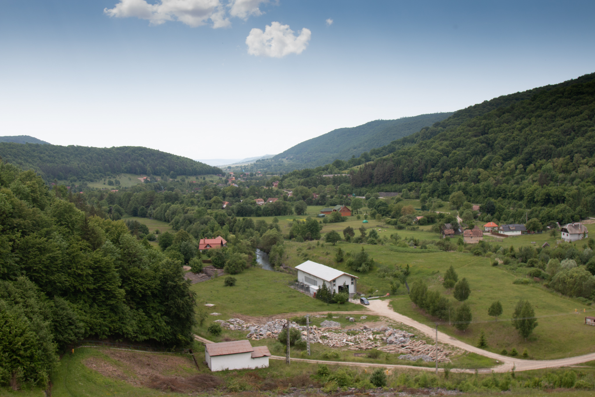 Landscape from Zetea Dam