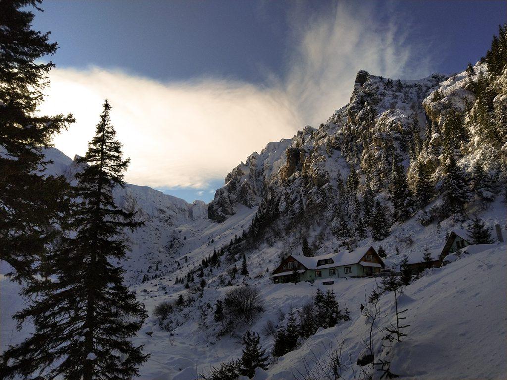 Hiking in Bucegi mountains